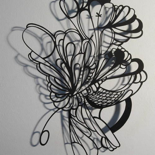 Floating, Cut Paper, Cutout, Shadow Art